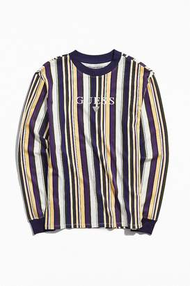 GUESS Ashton Stripe Long Sleeve Tee