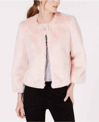 Maison Jules Faux-Fur Coat