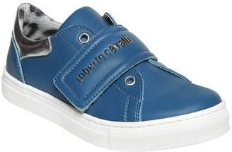Roberto Cavalli Nappa Leather Sneakers