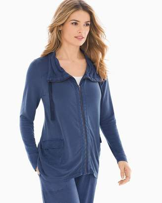 Mineral Wash Jacket Navy