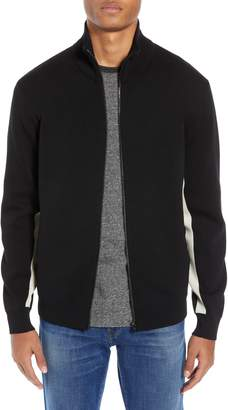 French Connection Lakra Regular Fit Zip Sweater