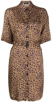 Paul Smith cheetah print shirt dress