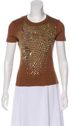 Christian Dior Embellished Short Sleeve T-Shirt