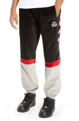 Kappa Authentic Serena Cotton Velour Track Pants