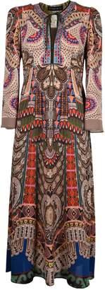 Etro Symmetrical Maxi Dress