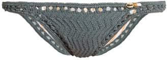 She Made Me Laharia Mini Hipster crochet bikini briefs