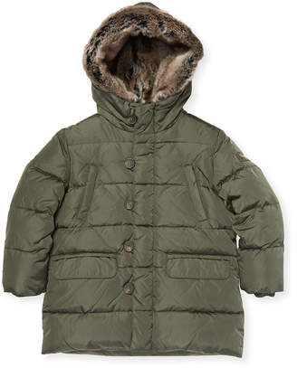 Il Gufo Trimmed Quilted Jacket