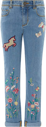 Monsoon Blossom Embroidered Jeans