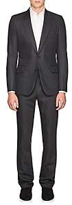 The Row Men's David Wool-Mohair Two-Button Suit - Gray