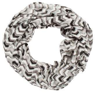 Calvin Klein Printed Infinity Scarf