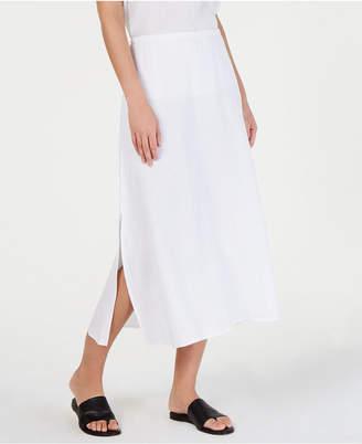 95ce3a1558a Eileen Fisher Organic Cotton A-Line Maxi Skirt