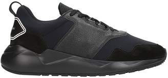 Buscemi Ventura Black Leather And Suede Sneakers