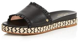 Kate Spade Women's Zahara Leather Slide Sandals