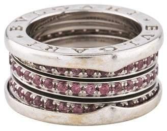 Bvlgari Pink Sapphire B.zero1 Ring