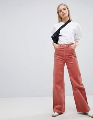 Weekday Cord Wide Leg Pants