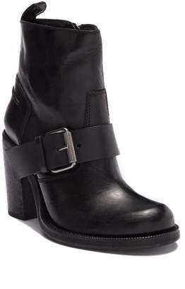 AllSaints Zadie Heeled Shearling Boot