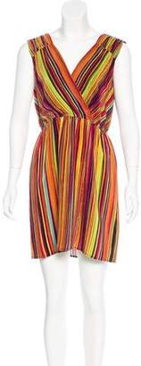 Twelfth Street By Cynthia Vincent Printed Silk Dress