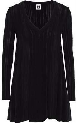 M Missoni Stretch-Knit Mini Dress