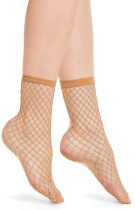 Wolford Tina Summer Net Ankle Socks