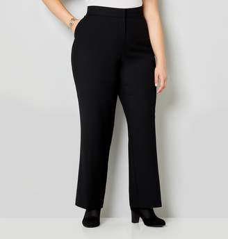 Avenue Plus Size Luxe Cool Hand Curvy Trouser With Tummy Control