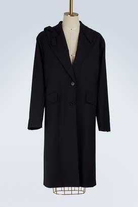 Miu Miu Oversize wool coat