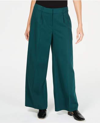 Eileen Fisher Tencel Pleated Wide-Leg Pants, Regular & Petite