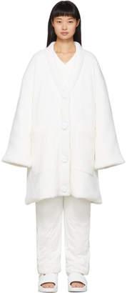 MM6 MAISON MARGIELA White Padded Cardigan