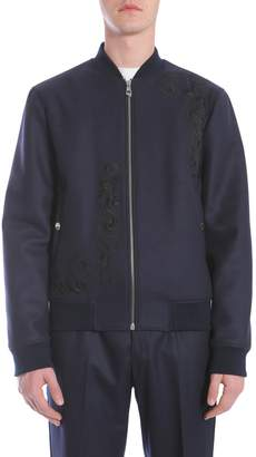 Versace Wool Cloth Bomber Jacket