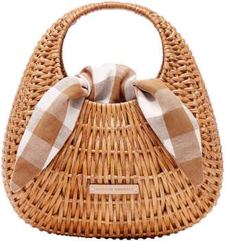 Loeffler Randall Lorna Wicker Tote Bag