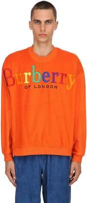 Burberry Rainbow Logo French Terry Sweatshirt