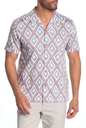 ba8dd8045 Ted Baker Slim Fit Diamond Print Sport Shirt