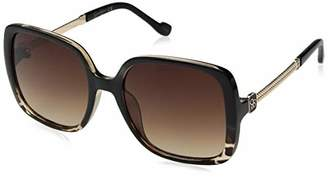 Jessica Simpson Women's J5715 Oxts Non-Polarized Iridium Square Sunglasses