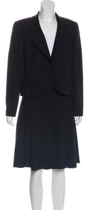 Chanel Knee-Length Vintage Skirt Suit