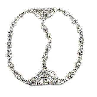 Kristin Perry Rhinestone Chain Headpiece
