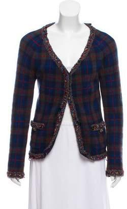 Chanel Paris-Edinburgh Cashmere Cardigan