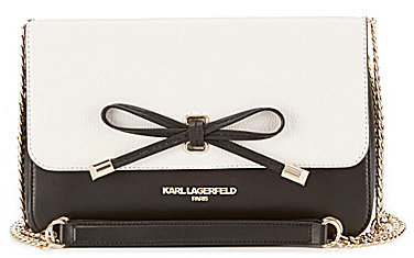 KARL LAGERFELD PARIS Bebe Bow Cross-Body Bag