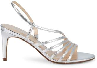 Nine West Metallic Strappy Sandals