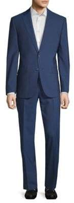 Calvin Klein X-Fit Slim Wool Suit