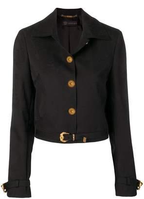 Versace Medusa buttons jacket