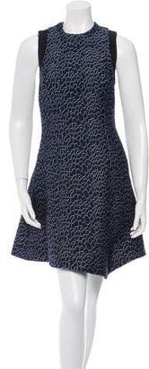 Proenza Schouler Open Back Jacquard Dress