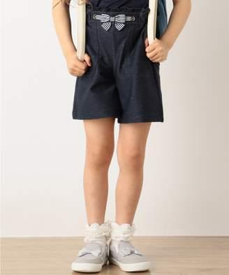 Kumikyoku (組曲) - 組曲 KIDS 【SCHOOL】デニムニット パンツ(C)FDB