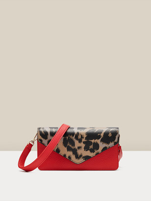 Diane von Furstenberg Willow Leather Clutch