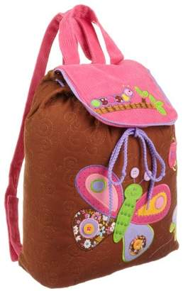 Stephen Joseph Girls 2-6x Girl's Signature Collection Quilted Backpack
