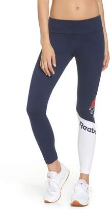 Reebok Starcrest Logo Leggings