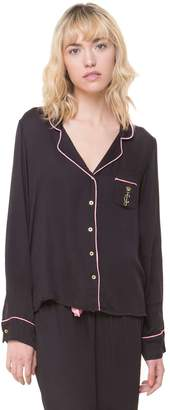 Juicy Couture Piped Long Sleeve PJ Set