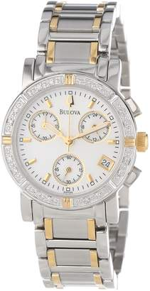 Bulova Women's 98R98 Diamond Chronograph Watch