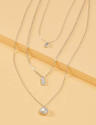 Lane Bryant 3-in-1 Stone Pedant Necklace