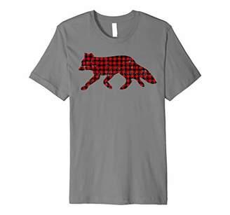 Retro Christmas Lumberjack Fox T-Shirt