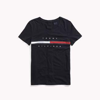 Tommy Hilfiger Seated Fit Stripe Signature Tee
