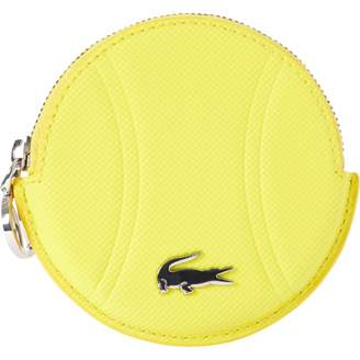 Lacoste Yellow Leather Wallets